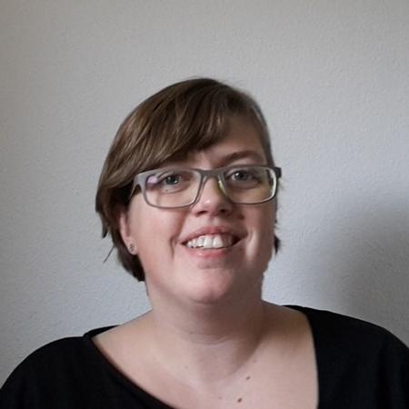 Profilbillede af Mennesker og Jobs multimediepraktikant Maria.